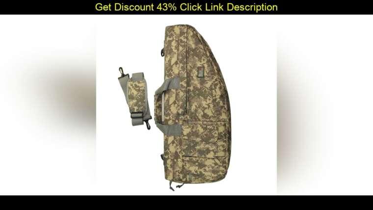 Meilleur sac de pistolet tactique en Nylon 70 cm Airsoft de haute qualité pour jeu de guerre militaire en plein air Shoo