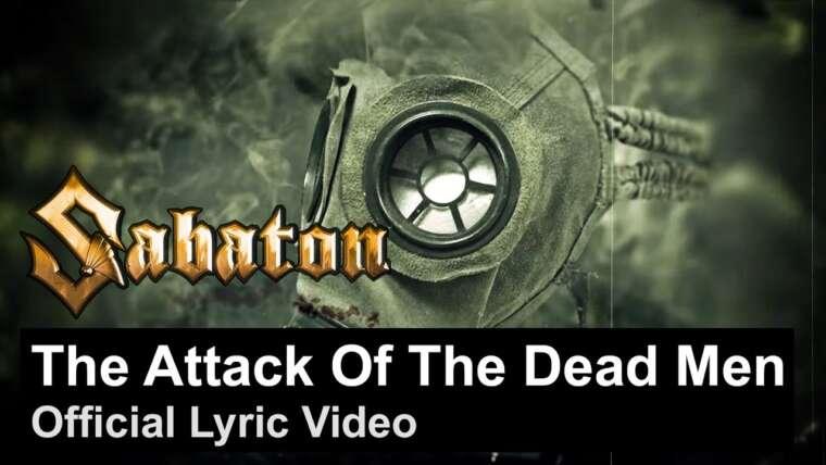 SABATON – L'attaque des hommes morts (vidéo lyrique officielle)