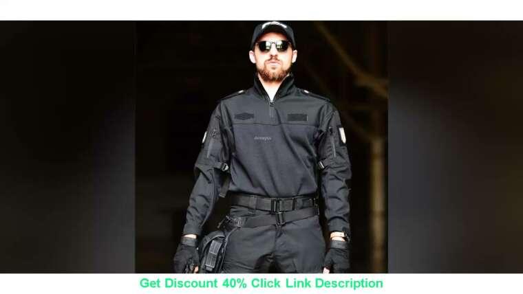 Évaluer T-shirt de camouflage de l'armée tactique Vêtements de chasse militaires Airsoft Paintball Uniforme Sniper H