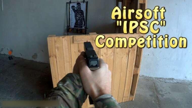 """Compétition rapide d'airsoft – """"iPSC"""""""