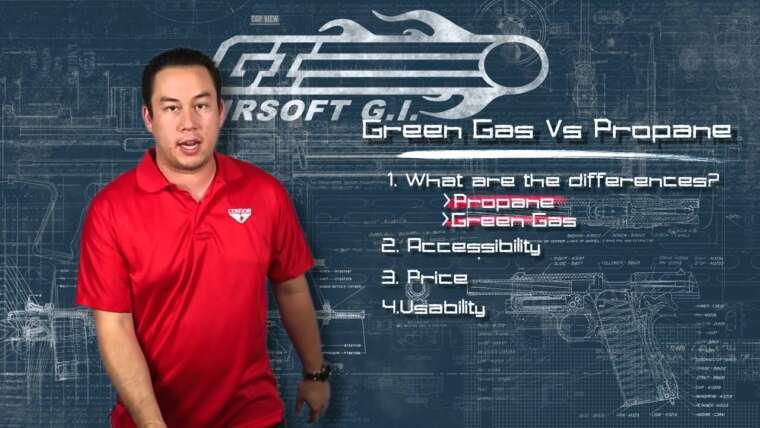 Airsoft GI – Retour aux sources – Gaz vert contre propane