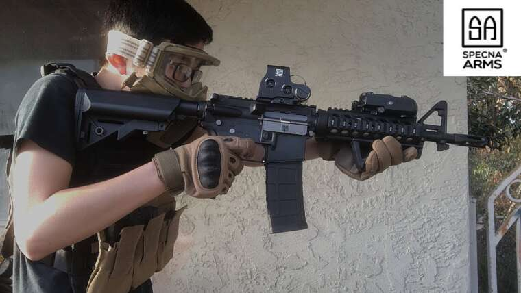 Airsoft Specna Arms Edge M4A1 CQBR/MK18 MOD 0 Tir