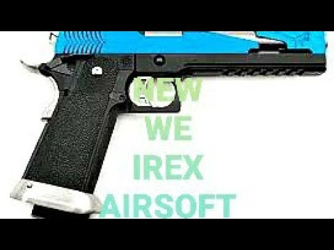 NOUS IREX TYPE C AIRSOFT TEST FIRE REVIEW UNBOXING