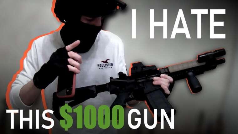 Je déteste mon pistolet Airsoft à 1000 $ et voici pourquoi