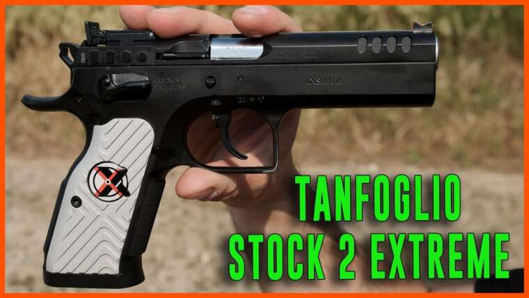 Tanfoglio Stock 2 Extreme 9×21 -unboxing et analyse technique – review