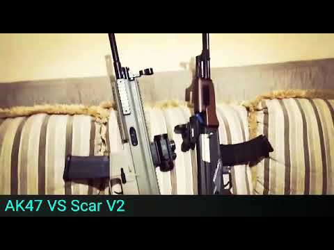 Passez en revue Gel Blaster to Airsoft, AK47 VS SCAR (Renxiang AKM47 VS Jinming J8), quel est le meilleur ?