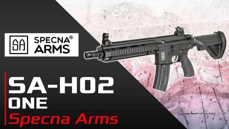 [SA-H02 One – Specna Arms] Présentation   Review   Airsoft FR – EN subs