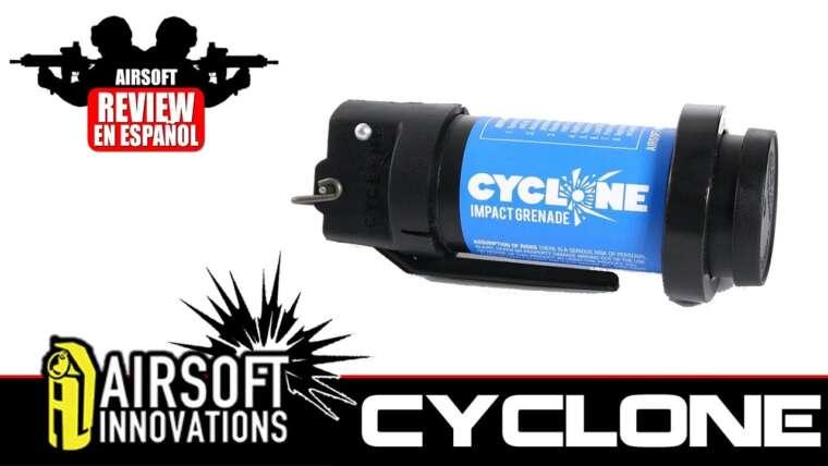 CYCLONE: Revue d'Airsoft Granada Cyclone Impact en Español HD