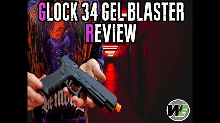 WE GLOCK34 Gel Blaster Review + Gameplay