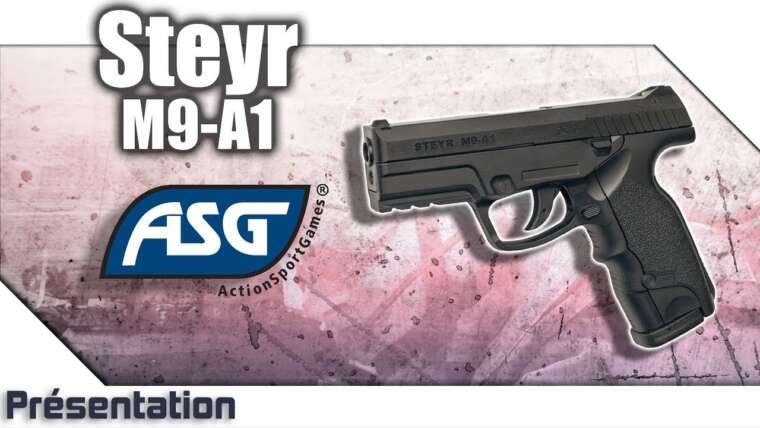 [Steyr M9-A1- ASG] Présentation | Review | Airsoft FR – EN subs