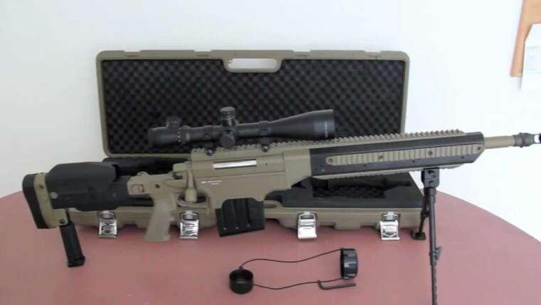 Examen du fusil de sniper ASG Ashbury ASW338 LM Airsoft