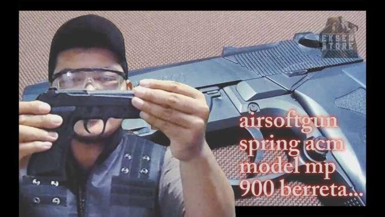 Revoir le ressort de pistolet airsoft berreta mp900 (acm).