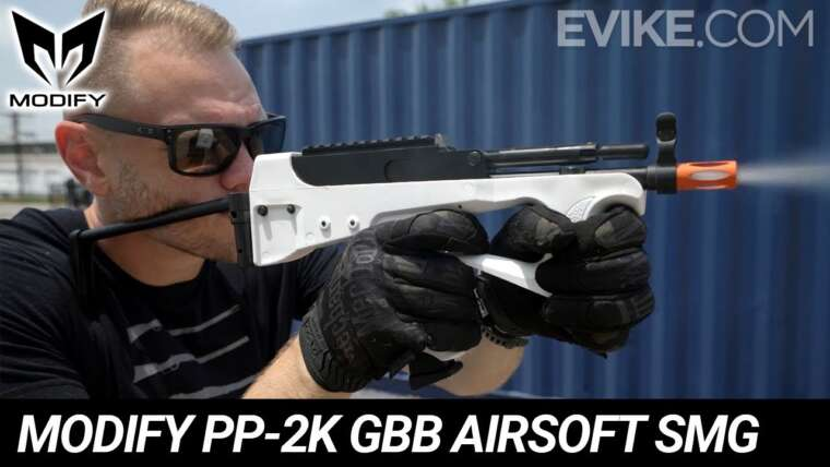 Modifier PP-2K Gaz Blowback Airsoft SMG – Instantané