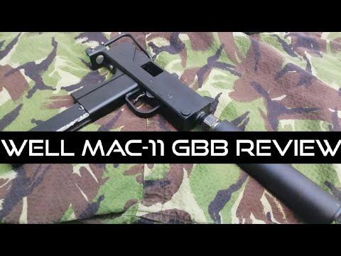 Fiddly But Fun (WELL Airsoft G-11 MAC-11 GBB Machine Pistol Review)