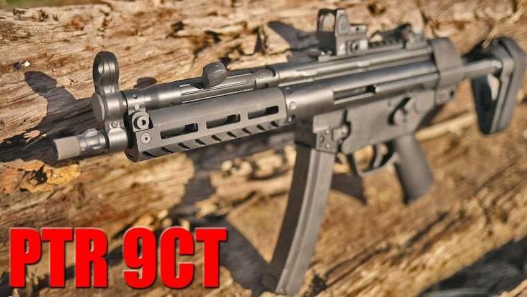 PTR 9CT 1000 Round Review: Un MP5 de fabrication américaine que vous pouvez vous permettre