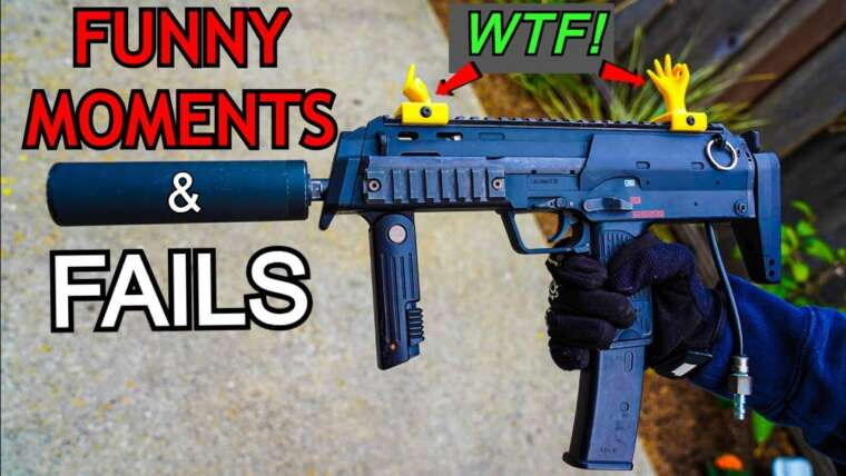 CRAZY FAILS/FUNNY MOMENTS d'AIRSOFT!  *COMPILATION ULTIME*