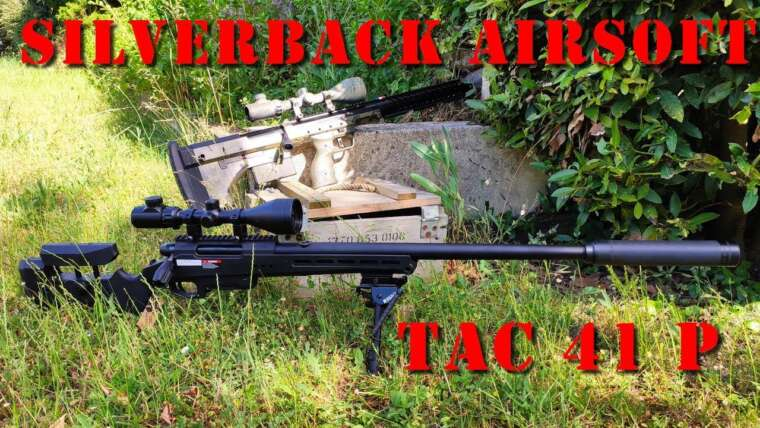 Airsoft – Silverback TAC41P [French]