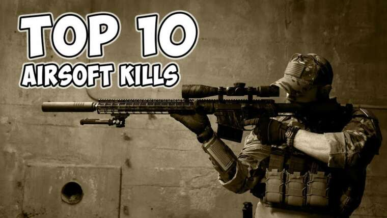 TOP 10 AIRSOFT KILLS (Retro Rewind Edition)