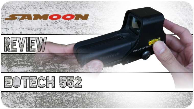 Airsoft Review FR – Holosight Red dot Eotech 552 Samoon