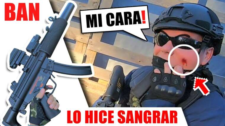 J'AI PUNCHÉ son VISAGE️ 😱🩸 ▬ BANEDE ▬ Gameplay Yio Airsoft