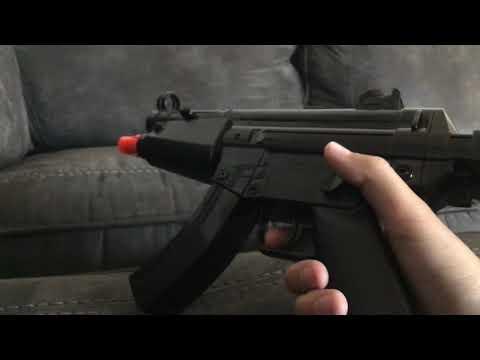 Examen du pistolet airsoft automatique HFC mini mp5