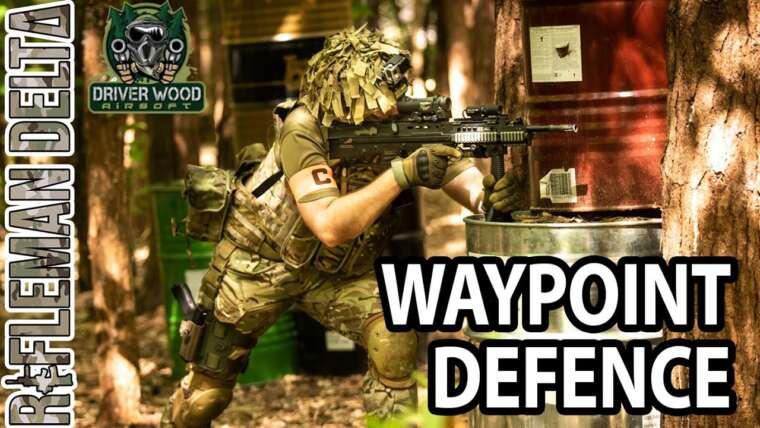 Défense Waypoint – Pilote Bois Airsoft
