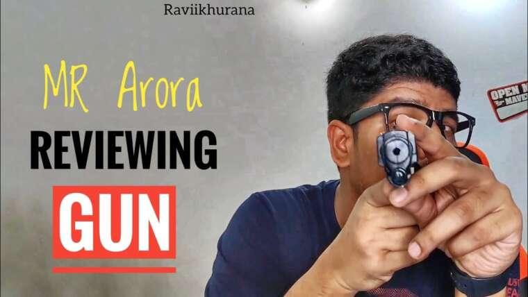 M. Arora passe en revue Blanca Gun |  ft Ravi Khurana