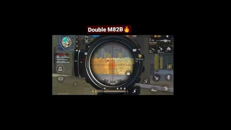 Double M82B     jouer comme ajjubhai     @total gaming     Double tireur d'élite 🤟