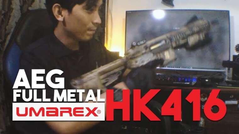 Évaluer Umarex HK416 (Full Metal)