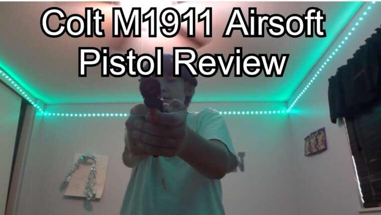 REVUE COLT M1911 (Est-ce qu'une arme à 40 $ est bonne!?)