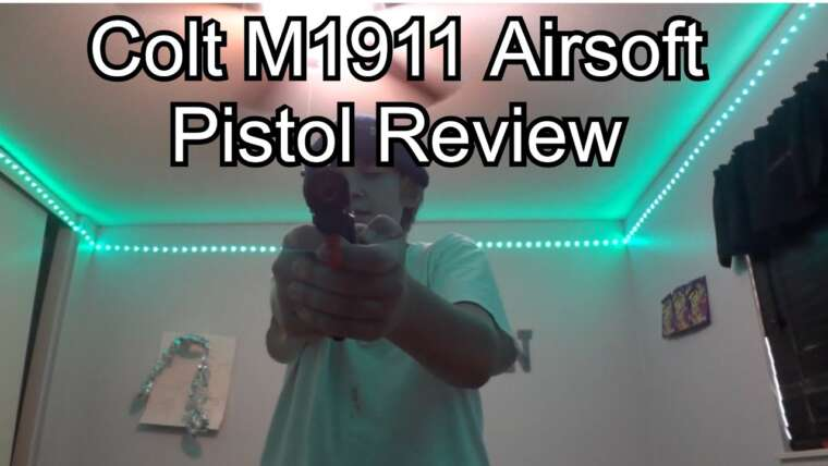 Examen du pistolet COLT M1911 Airsoft (un pistolet à 40 $ en vaut-il la peine?)