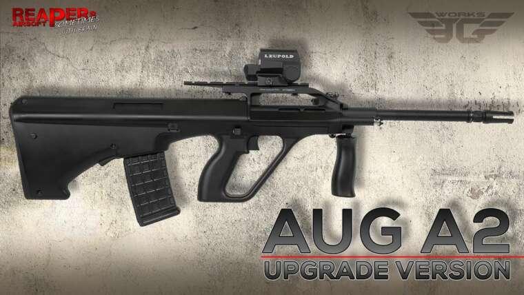 [Review] Begadi/JG AUG A2 S-AEG – Version de mise à jour (Nylon,Mamba,FSWS) (STG77) 6mm Airsoft/Softair (DE)