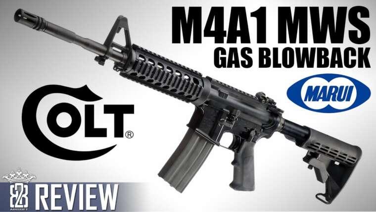 Tokyo Marui – Système Colt M4A1 MWS GBBR ZET – Revue Airsoft