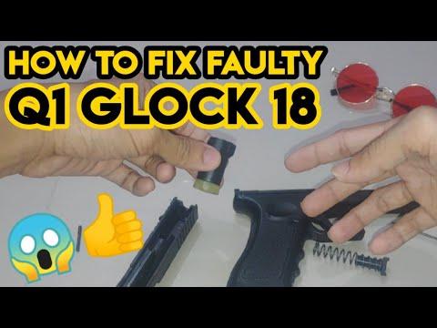 Comment réparer le Q1 Glock 18 défectueux    Très facile (RÉPARATION par UNBOXING SIMULATOR TV)