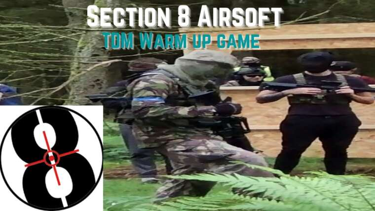 Section 8 Airsoft Gameplay – Match à mort en équipe