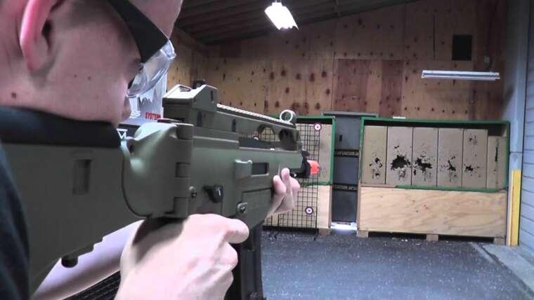 Airsoft GI Uncut – Umarex H&K Blow Back G36CV AEG Airsoft Gun (Dark Earth)