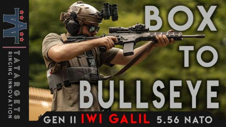 Gen II IWI Galil Ace 5.56 |  Boîte à Bullseye