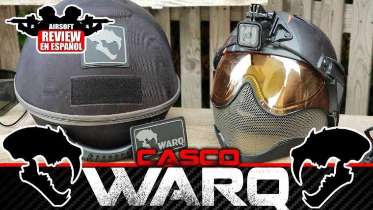 CASQUE WARQ HELMET: Le meilleur casque que j'ai jamais essayé !!     Revue Airsoft en espagnol