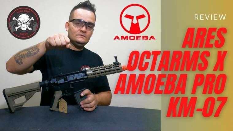 Évaluer Ares Octarms X Amoeba PRO KM-07 I Head Shot Airsoft Shop