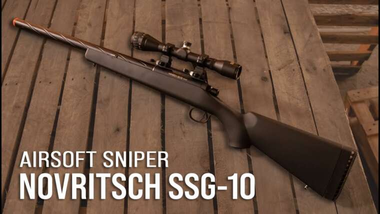 Carabine Novritsch SSG-10 Airsoft |  Partenariat exclusif avec Rossi