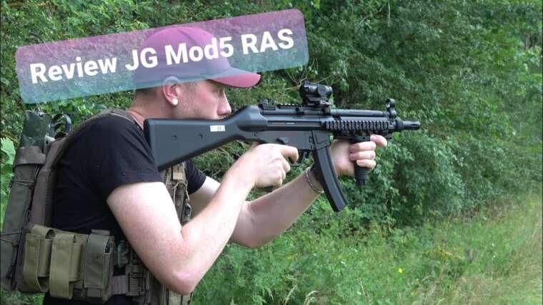 """Avis JG MOD5 """"RAS"""" S-AEG – ALLEMAND"""