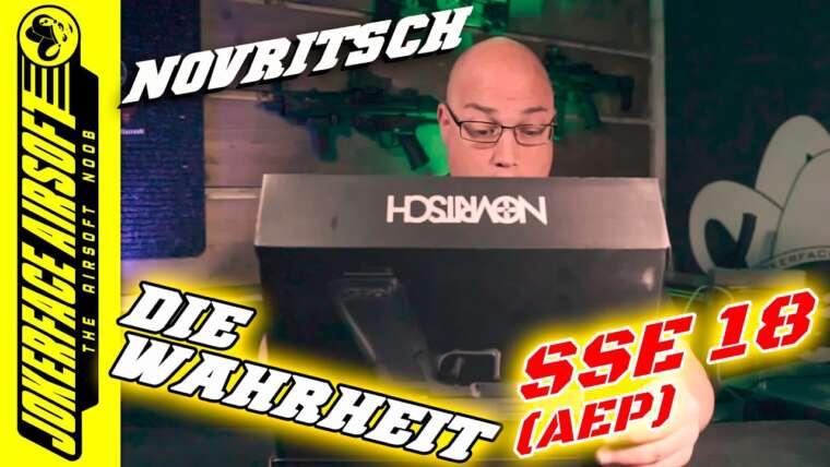 NOVRITSCH SSE 18 AEP Airsoft Review 2021 (Allemand/Deutsch)