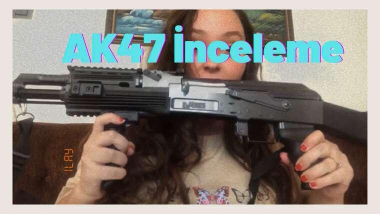 Ak47 Airsoft ncelemesi |  Examen du déballage Ak47