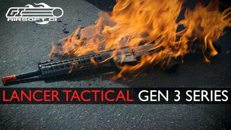 VA-T-IL SURVIVRE ?!  – Lancer Tactical Gen 3 AEG    Airsoft GI