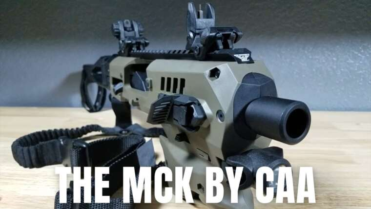 MEILLEURE OPTION HOME DEFENCE 9MM MCK PAR CAA REVIEW
