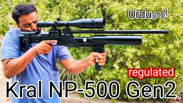 Kral Puncher NP500 S Gen2 déballage du pistolet à air comprimé pcp régulé en ourdou
