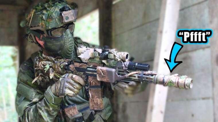 L'ennemi n'entend pas ce silencieux M4 (STEALTH ASSAULT LOADOUT)