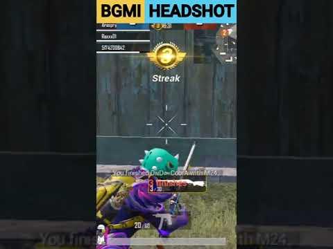 vidéo de montage bgmi m24 |  jeu bgmi m24