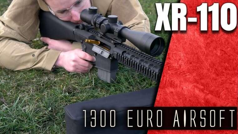 1300€ AIRSOFT Rare Arms XR-110 Review Deutsch 4k