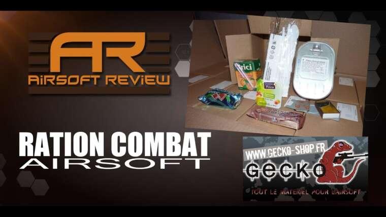RATION COMBAT AIRSOFT [ GECKO-SHOP ] / REVUE AIRSOFT